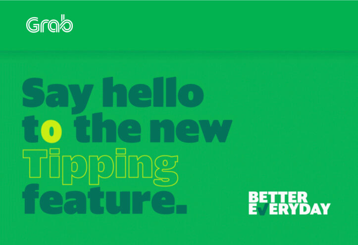 Grab Intros New Tipping Feature