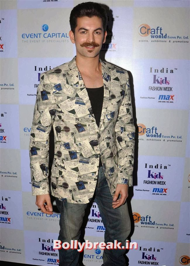 Nitin Mukesh, Celebs at India Kids Fashion Week 2014