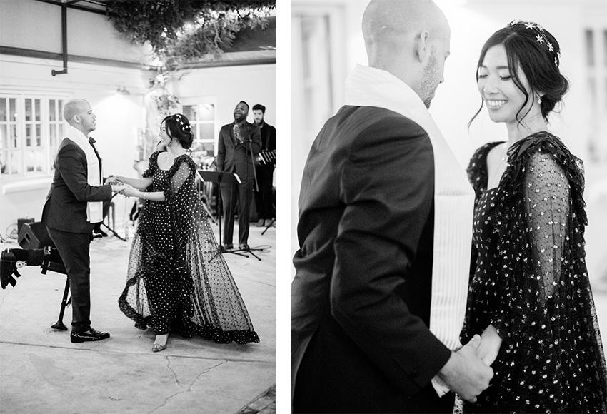 Honey & Silk Provencal Wedding | Vintage 1950s Lanvin Dress
