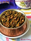 Spinach And Paneer Bhurji