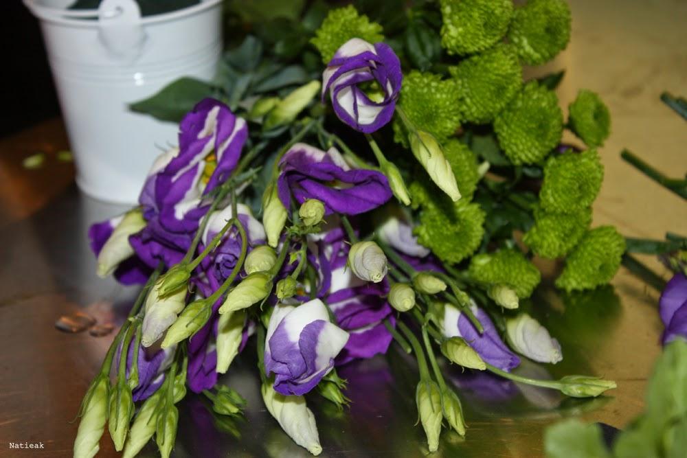 Lisianthus atelier florale Bouquet
