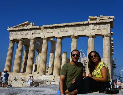 Partenón, Acrópolis de Atenas. Grecia.
