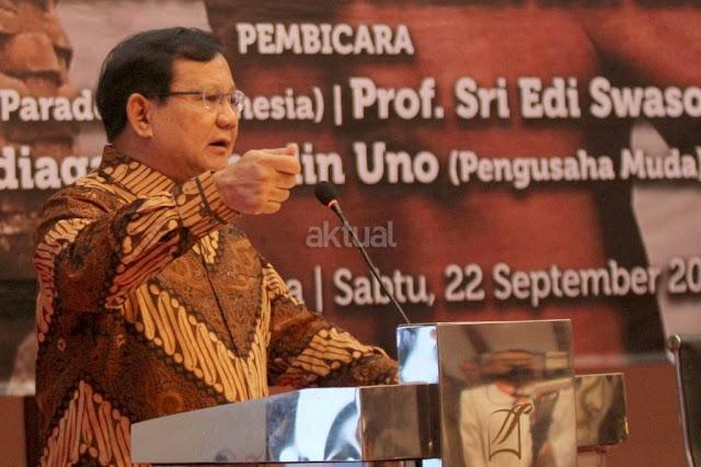 Berkarya Sebut Prabowo Perpaduan Soekarno dan Soeharto