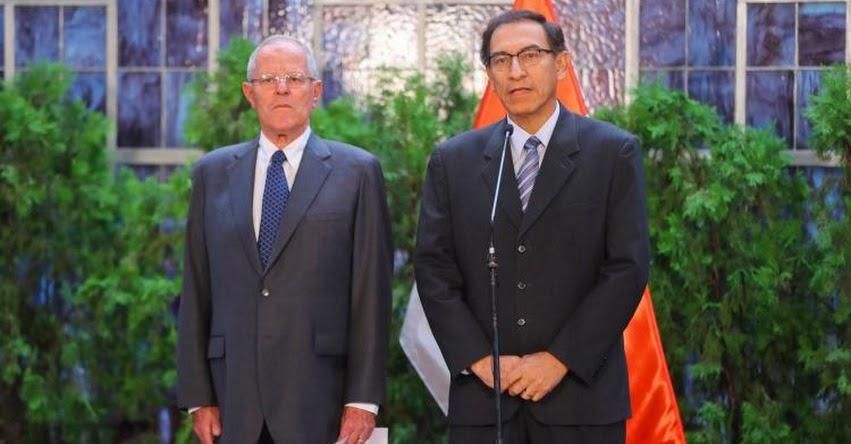 OTRO GOL DEL FUJIMORISMO: Renunció el Ministro de Transportes Martín Vizcarra