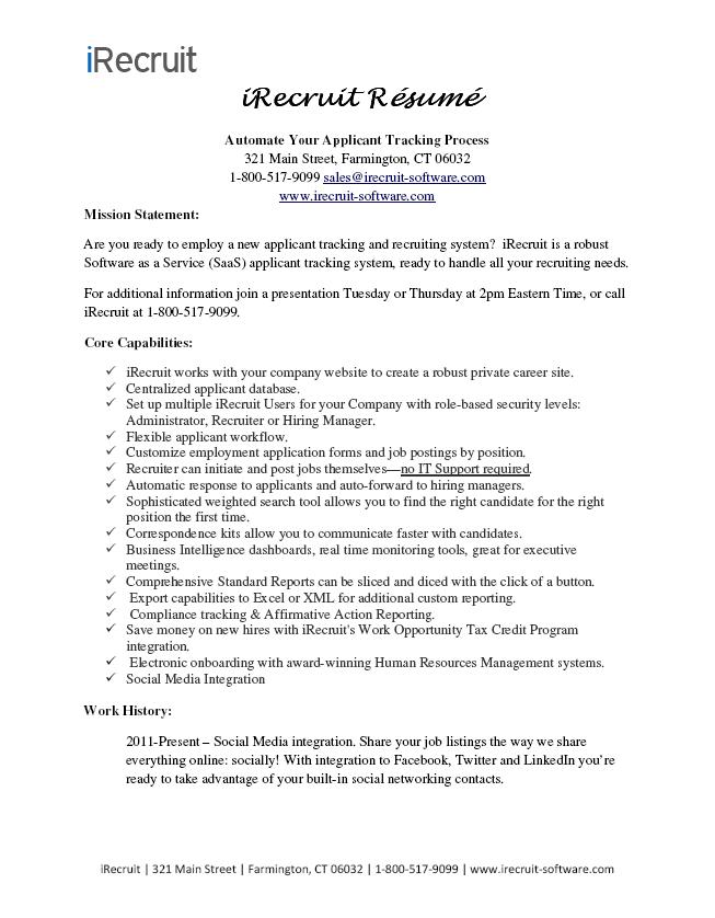 post your resume markushenritk