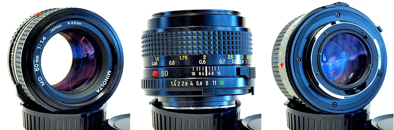 Minolta MD 50mm 1:1.4 #647