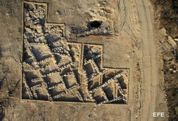 Ruinas de aldea rural del período del Templo de Jerusalén