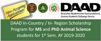 DAAD In-Country/In-Region Ph.D. Scholarships