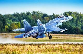 Pesawat Sukhoi Su-35 TNI AU