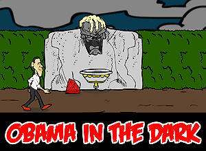 Obama in the Dark