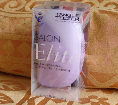 Tangle Teezer Salon Elite Sweet Lilac Detangling Hair Brush Review Price Discounts in India