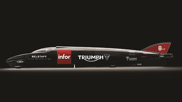 1,000 bhp Triumph Infor Rocket Streamliner