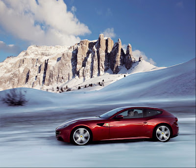 The Ferrari FF