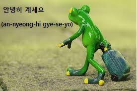 Ucapan Selamat Tinggal Dalam Bahasa Korea