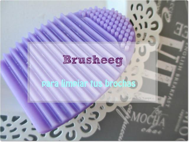 Brushegg, la nueva herramienta para limpiar tus brochas y pinceles