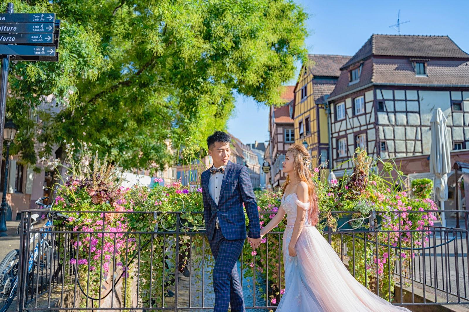 巴黎海外婚紗 科爾馬旅遊 科爾馬婚紗 羅浮宮 巴黎鐵塔 聖母院 海外婚紗推薦 聖心堂 大推海外婚紗 巴黎夜景 台北婚紗 義大利婚紗 威尼斯婚紗 布拉格婚紗