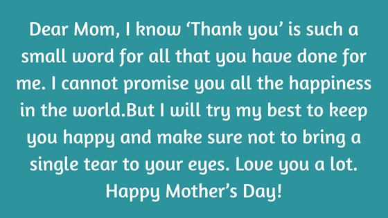 Happy Mothers Day 2019 Emotional Mothers Day Wishes Quotes For