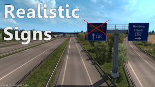 ets 2 realistic signs