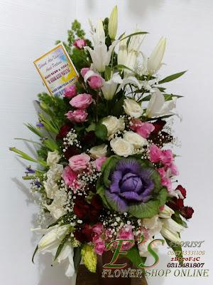 kado bunga untuk bayi yang baru lahir