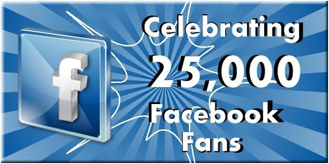 Image: 25,000 Facebook Fans