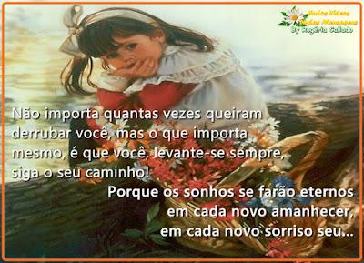 milagre da vida, mensagem, Rogéria Callado