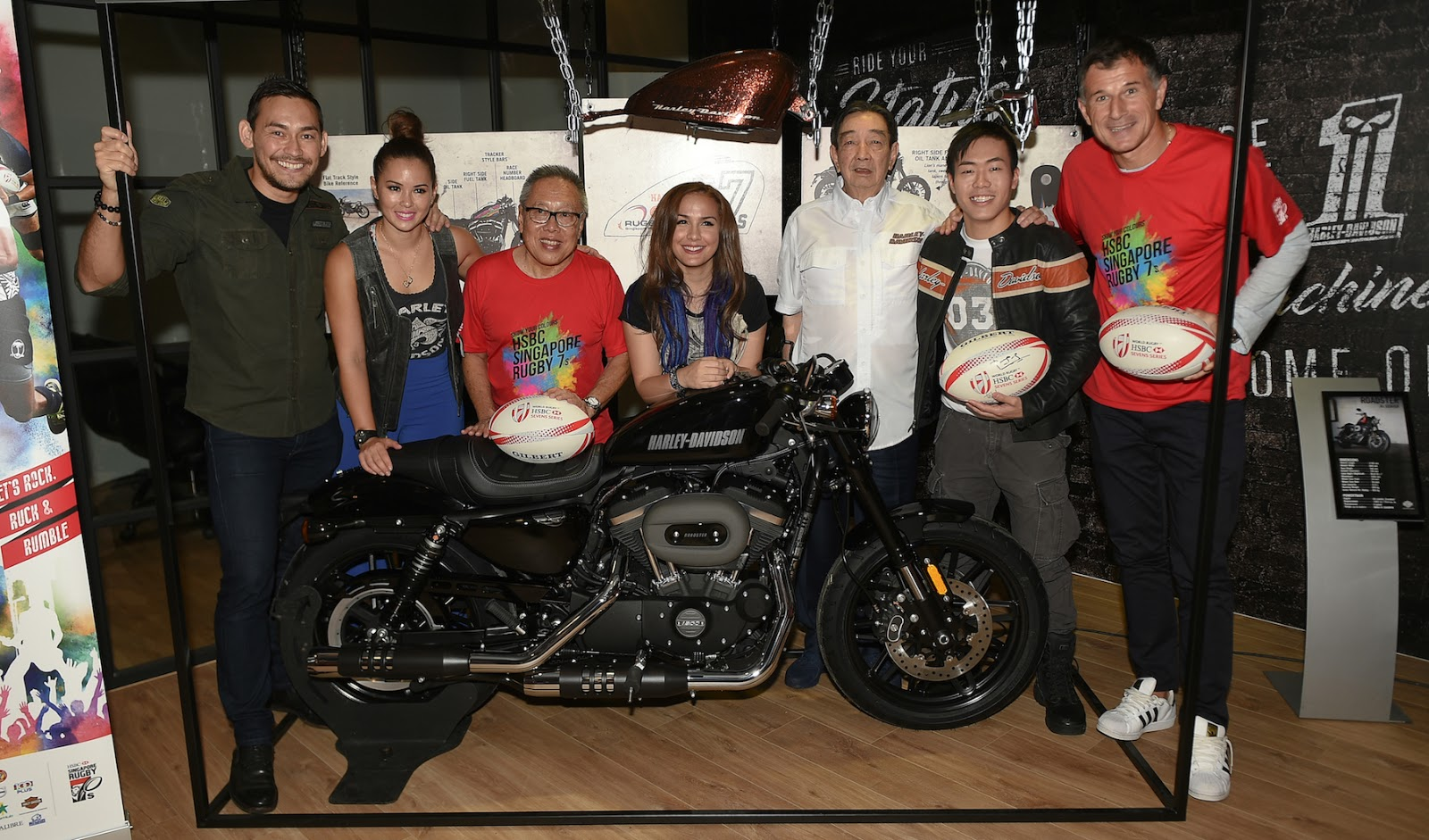 Harley Davidson Of Singapore And Rugby Partnership Makes A Thunderous Rumble Everyday Food I Love