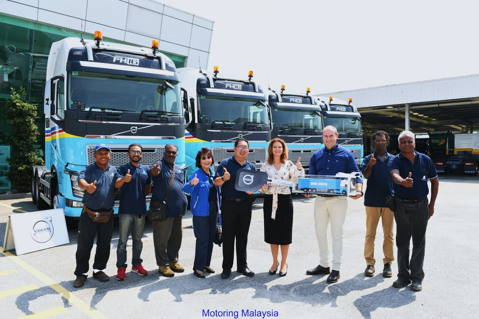 Motoring-Malaysia: Aman Logistik Sdn Bhd Procures Four Volvo FH16