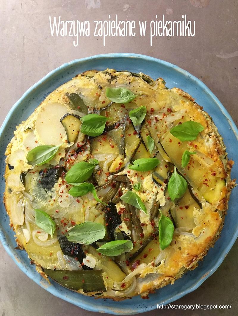 Warzywa zapiekane w piekarniku czyli wariacje nt. hiszpańskiej tortilli