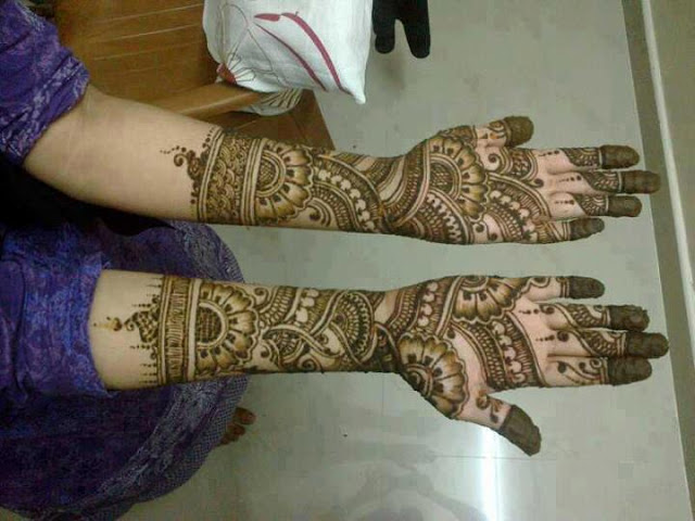 karva chauth mehndi designs photos hot