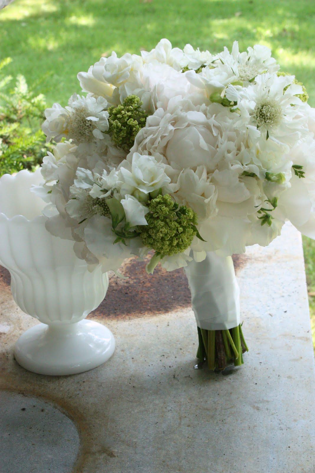 BLUSH Floral Design: Madison Beach Club Green & White Wedding