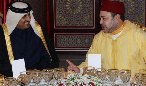 أمير قطر يهنئ الملك محمد السادس بمناسبة نجاح العملية الجراحية