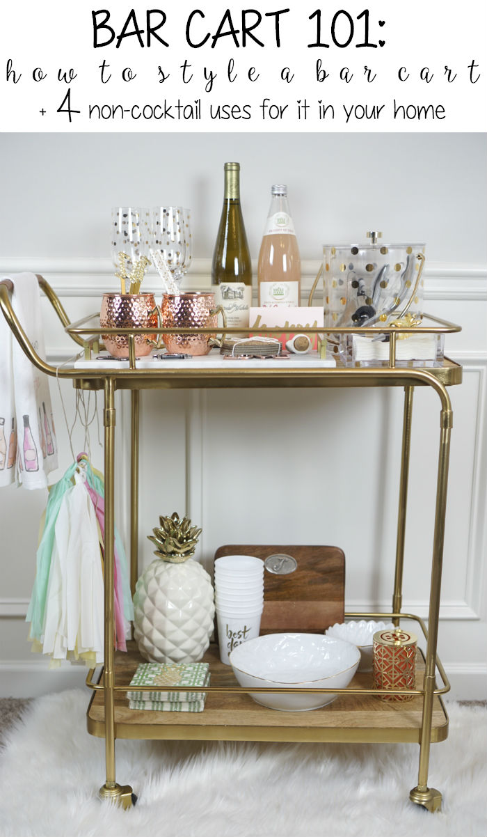 how to style a bar cart, functional uses for a bar cart, traditional bar cart, bar cart style, bar cart inspiration, affordable bar carts