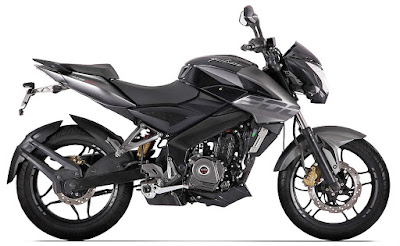 Bajaj Pulsar NS200 side look