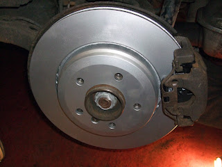 BMW E46 330d rear brakes