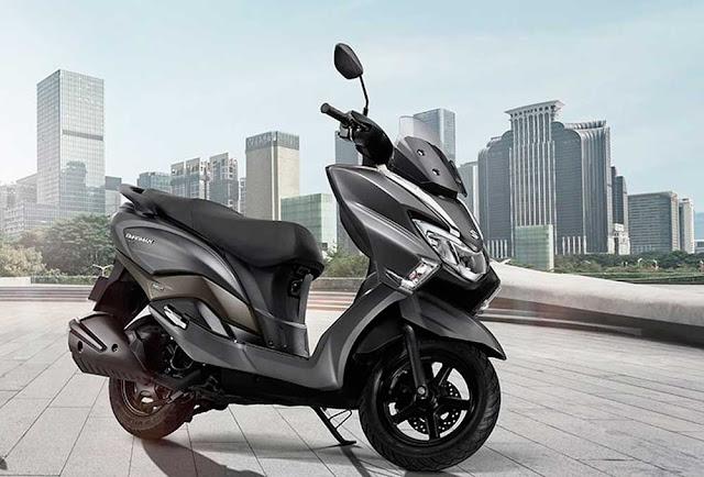 Suzuki Burgman Street é apresentada na Índia