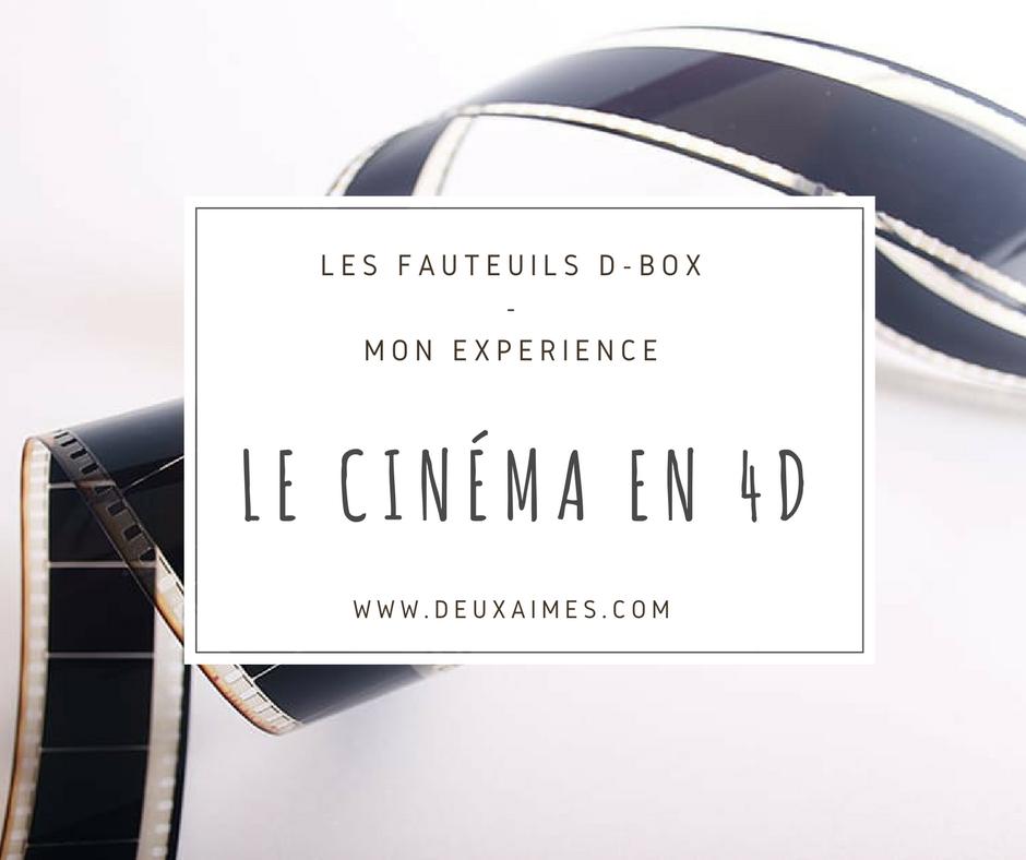 Cinéma 4D, mon expérience - Siège D-BOX Disney - Mo avis - Photo - DeuxAimes