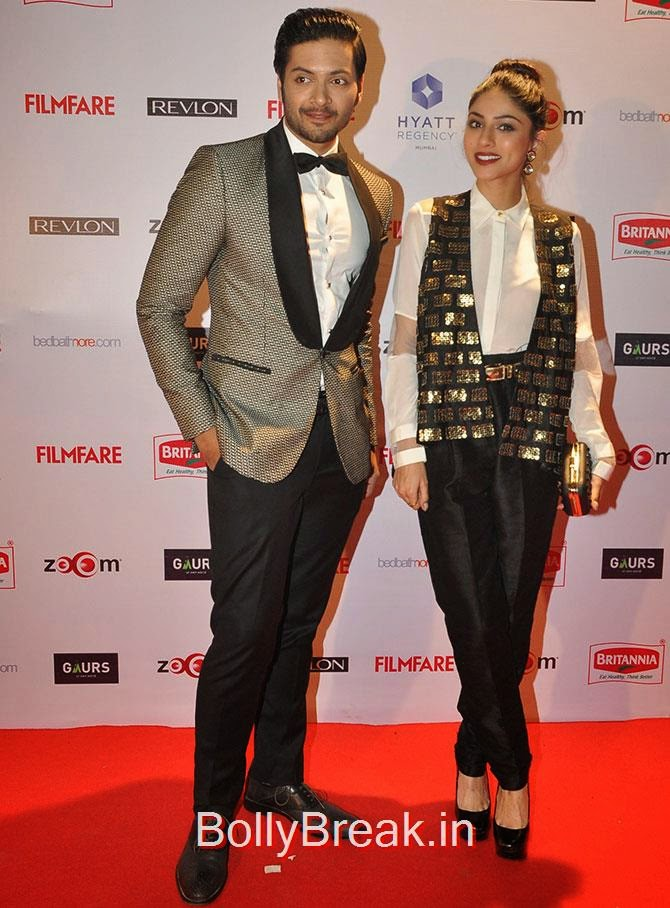 Ali Fazal, Sapna Pabbi, Filmfare Awards 2015 Red Carpet Pics for Nominations Pre Party