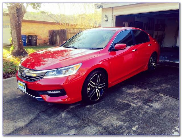 2016 Honda Accord WINDOW TINT Film