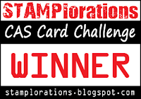 STAMPlorations June CAS Card Challenge Winner