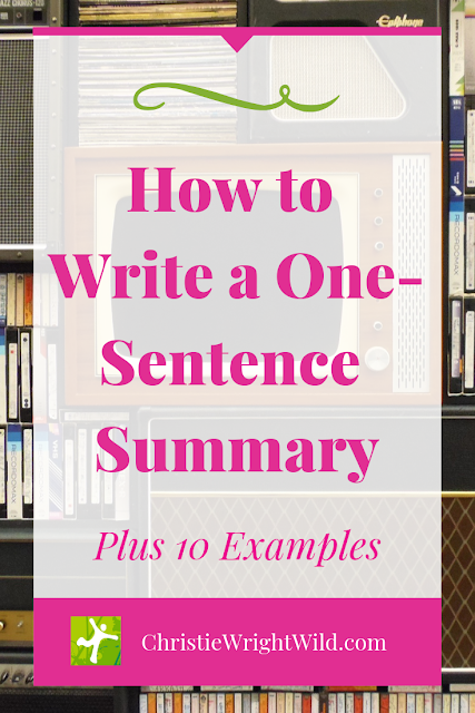 When people find out that you're writing a book, they'll ask you what it's about. Having a short one-sentence summary (aka logline) as your go-to resource will help you quickly share what your novel is all about. It'll save you the frustration of floundering around for the right words so you don't have to tell the backstory of your secondary character and explain why something important happened 10 years ago, blah, blah, blah. You've likely been in that situation before, whether as the writer telling what your book is about or as the listener feeling sorry for the writer struggling to share the plot succinctly. This list of 10 examples comes from a mix of movies and Newberry Award winning novels.