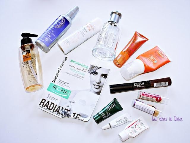 Productos terminados acabados empties beauty belleza facial corporal fragancias muestras
