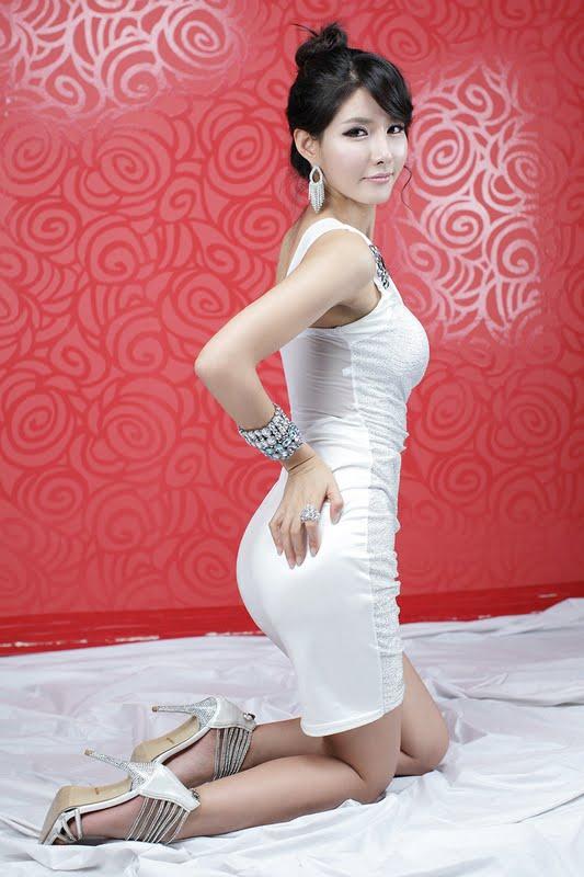 Cha Sun Hwa White Mini Dress Part 2 Zinglovefashion