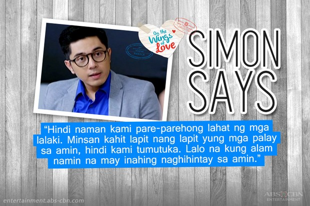 Read: Simon of On the Wings of Love gives advice!