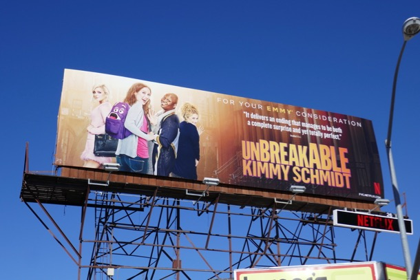 Unbreakable Kimmy Schmidt 2019 Emmy FYC billboard