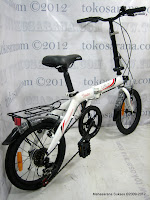3 Sepeda Lipat Laux Turin 16 Inci
