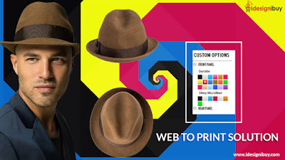 Hat Design Tool Software - Web To Print Solution