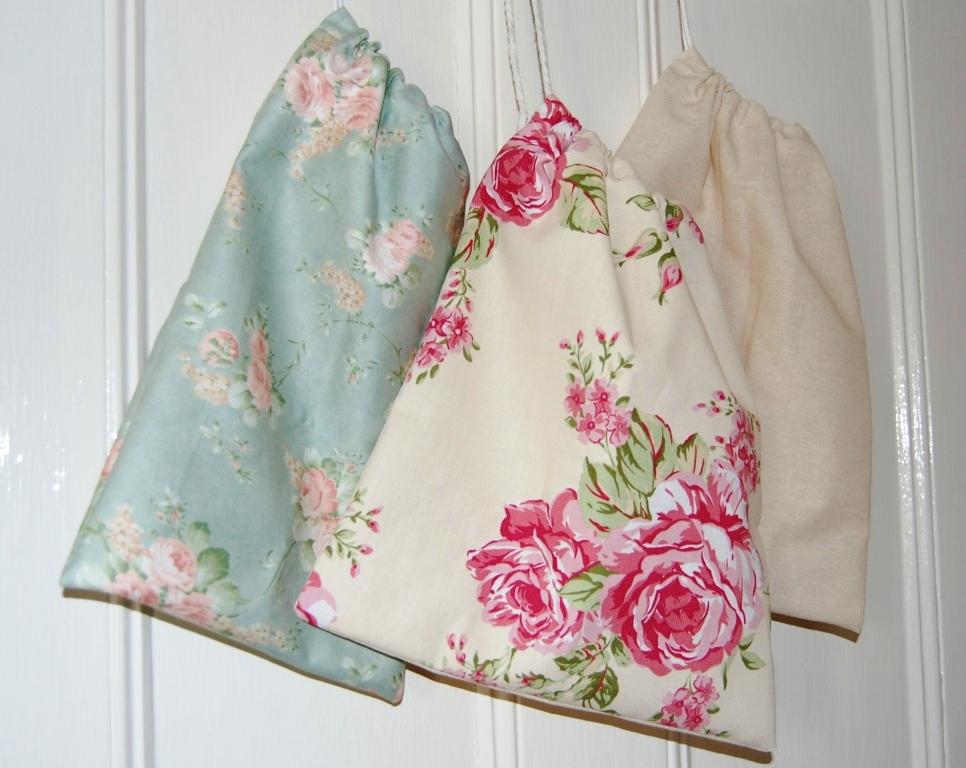 Handmade Homewares Drawstring Bag Tutorial