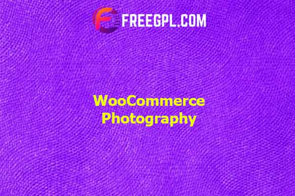 WooCommerce Photography Nulled Download Free