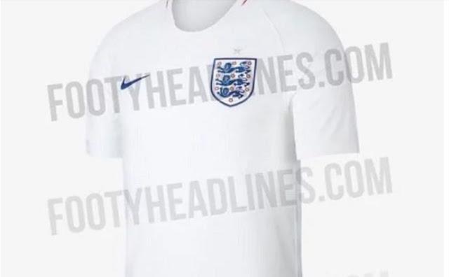 ننشر صور قميص منتخب إنجلترا في كأس العالم روسيا 2018