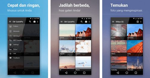 QuickPic - aplikasi gallery foto terbaik